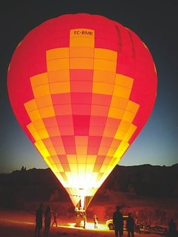 Balloon, Hot Air Balloon, Upright, Colorful, Travel