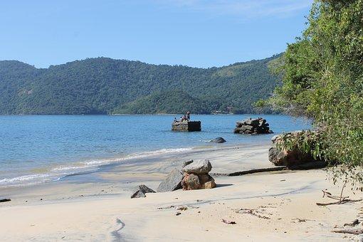 Ilha Grande, Trip, Beach, Forest, Montains, Stones