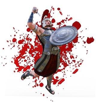 Blood, Gladiators, Rome, Roman, Antiquity, Arena