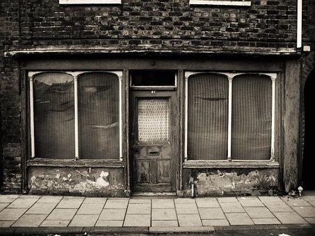 Vintage, Closed, Shop, Derelict, Old-fashioned, Broken