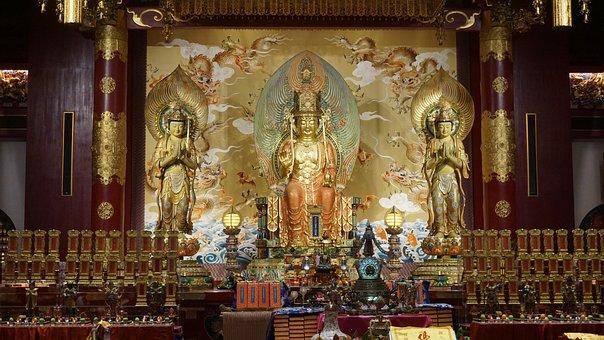 Budda Tooth, Temple, Chinatown, Singapore