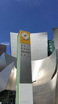 Walt Disney Concert Hall, Building, Architecture