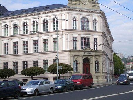 Museum, Building, Czechia, City, ústí Nad Labem
