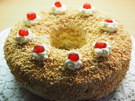 Frankfurt Wreath, Cake, Pie Specialty, Sandteig, Sponge