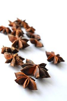 Chinese Star Anise, Anise, Illicium Verum, Star Anise