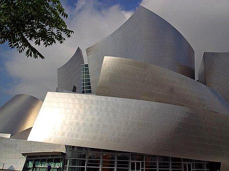 Halls, Buildings, Architecture, Concert, Disney, Urban