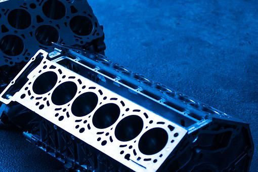 Motor, Engine Block, Cylinder, Technical