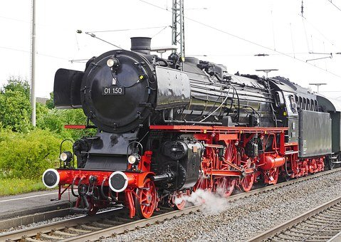Steam Locomotive, Restored, Famous, Br 01150