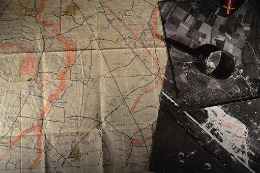 Old, War, Second World War, Former, Battle, Normandy