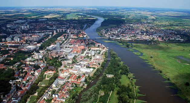 Frankfurt, Germany, Oder River, City, Cities