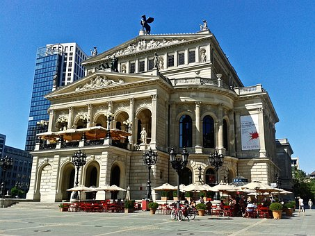 Old Opera, Monument, Frankfurt, Germany, Building