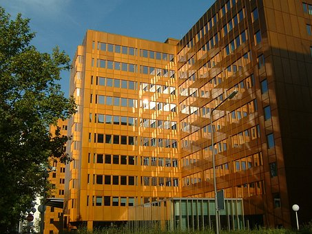 Frankfurt, Germany, Building, Offices, Office