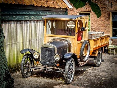 Zuiderzee Museum, Outdoor Museum, Crafts, Old Car