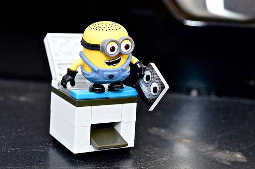 Minion, Photocopier, Office, Toy, Photocopying