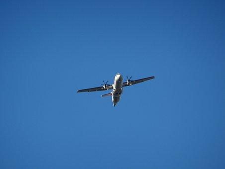 Aircraft, Start, Propeller, Propeller Plane, Small, Sky