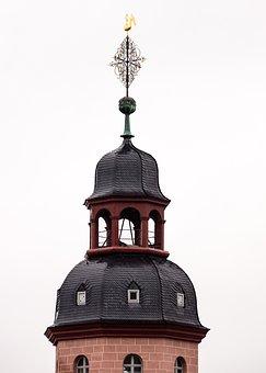 Church, Tower, Weather Vane, Wind Vane, Roof