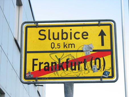 German-polish Border, Schengen, Frankfurt, Slubice
