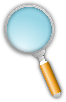 Magnifying Glass, Loupe, Transparent, Search, Spy, Look