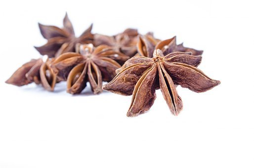 Aniseed, White, Isolated, Natural, Many, Spice, Seeds