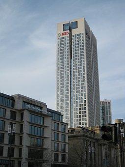 Frankfurt, Skyscraper, Architecture, Skyscrapers