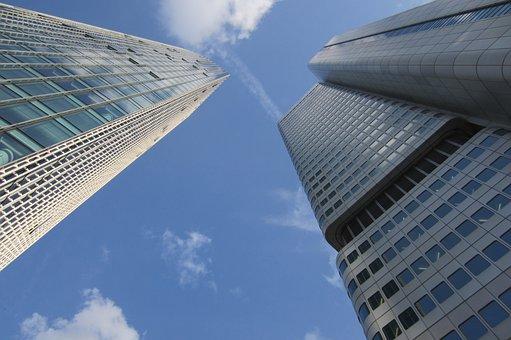 Architecture, Building, Home, Skyscraper, Bank