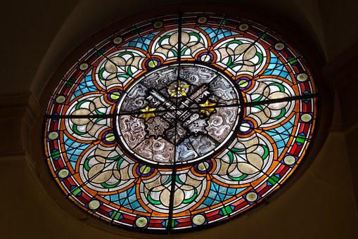 Stained Glass Window, Krotoszyn, The Town Hall