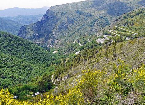 Maritime Alps, Traffic Routes, Schroff, Steep