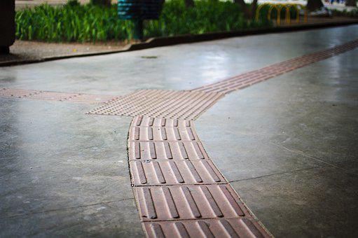 Accessibility, Tactile Floor, Autonomy, Independence