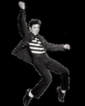 Elvis, Presley, Elvis Presley, Singer, Dancing, Vintage
