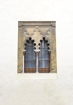 Window, Arabic, Architecture, Night, Andalusia