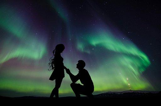 Nature, Aurora Borealis, Night, Landscape, Sky