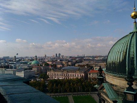 Berlin, Dome, Architecture, Building, Government