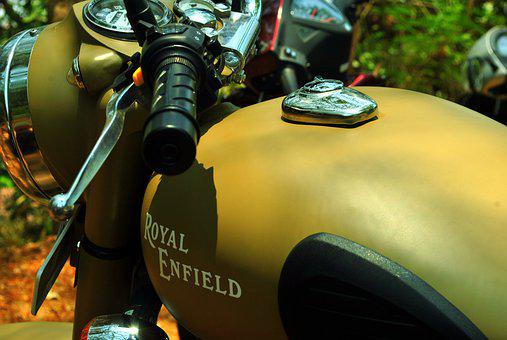 Bike, Motorcycle, Royal, Enfield, Bullet, Classic, Ride