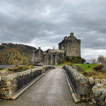 Eilean, Donan, Castle, Scotland, Highlands, Loch