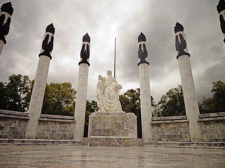 Chapultepec Castle, Children Heroes, Monument