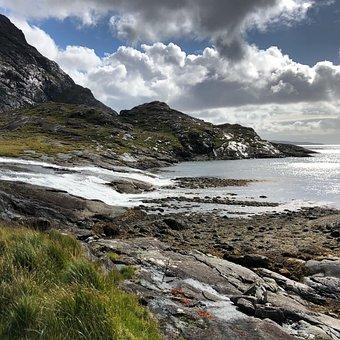 Loch, Coruisk, Isle Of, Skye, Scotland, Elgol, Island