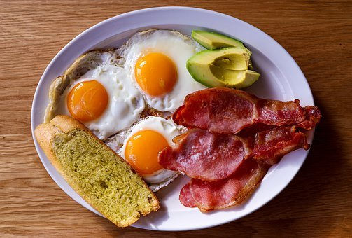 Breakfast, Eggs, Food, Meal, Brunch, Toast, Fresh
