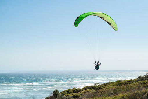 Paragliding, Paraglider, Flying, Suspended, Free-flying