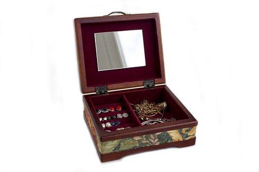 Casket, Jewelry, Richly, Gold, Treasure
