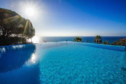 Portugal, Madeira, Ponta Do Sol, Hotel, Island