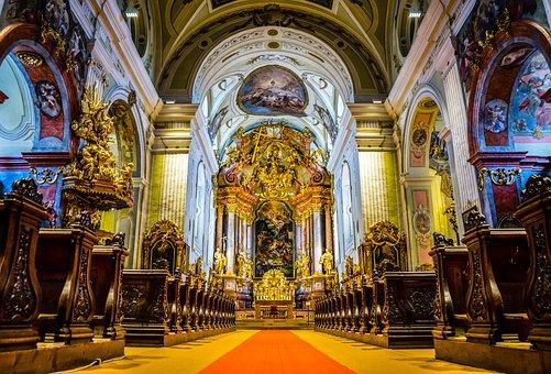 Krems, Krems At The Donau, Dom, Church, Cathedral
