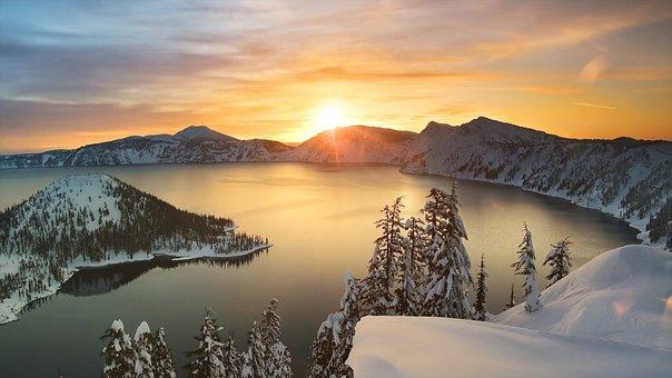 Sunrise, Sky, Sunset, Nature, Landscape
