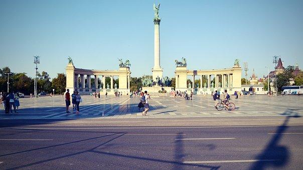 Landscape, Urban, Budapest, Building, Construction