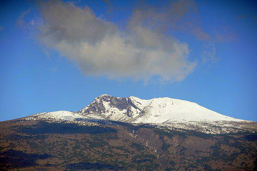 Mount Halla, Jejulsland, Korea, Snow