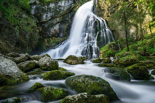 Water, Landscape, River, Nature