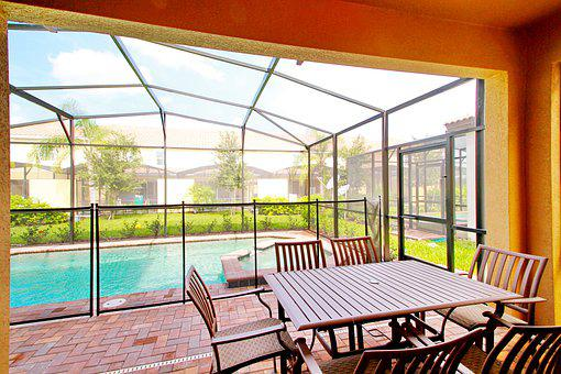 Pool, Patio, Backyard, Vacation, Relax