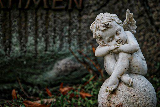 Cherub, Angel, Figure, Decoration, Sculpture, Art