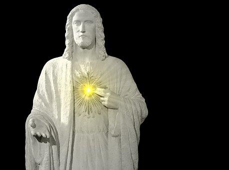 Statue, Sculpture, Pierre's Size, White Color