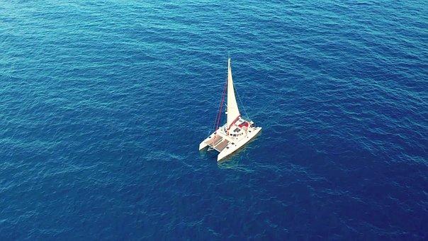 Boat, Water, Sea, Travel, Sky, Blue