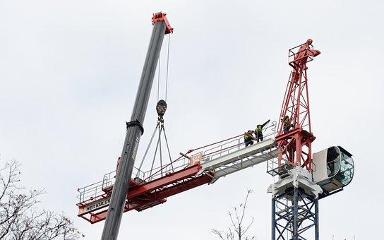 Equipment, Construction, Technology, Cranes